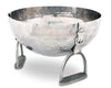 "Vagabond House Pewter Stirrup Ice / Wine / Champagne Bucket Tub 15"" Wide x 9"" Tall"