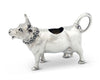 "Vagabond House Pewter Mabel Cow Modern Dutch Creamer 5.5"" x 3.5"" Tall"