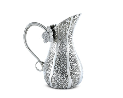 "Vagabond House Pewter Gourd Table Gravy Sauce Boat Pitcher 6.25"" Tall"