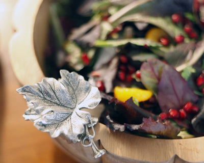 Autumn Vine Salad Serving Bowl