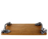 "Vagabond House Autumn Vine Cheese Board 10"" Wide x 18""Long"