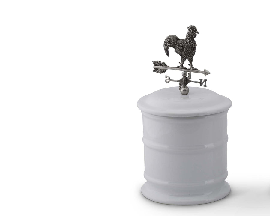 Canister - Tall - Rooster Weathervane  Vagabond House