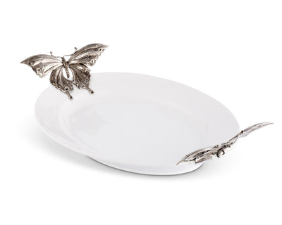 Butterfly Stoneware Tray X-Large