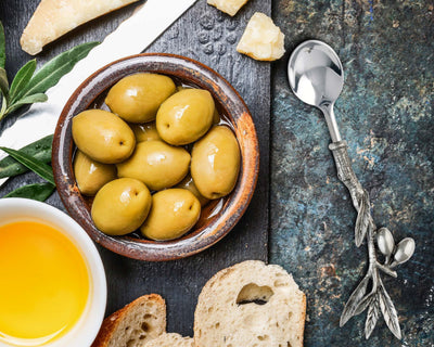 Olive Hors d oeuvre Spoon