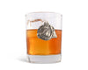 "Vagabond House Equestrian Horseshoe Double Old Fashion / Bar / Whiskey / Juice Glass 4.25"" Tall / 8oz - Sold as Single"