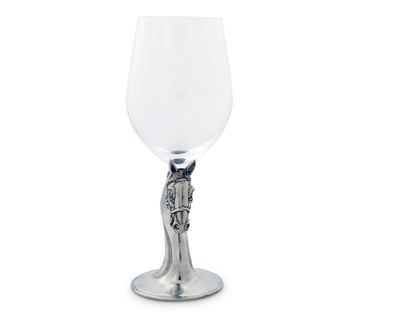 Horse Head Wine Glass