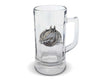 "Vagabond House Equestrian Horseshoe Glass Beer Stein 7"" Tall"
