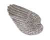 "Vagabond House Pewter Wing of Icarus Tray 6.75"" Wide x 13"" Long"