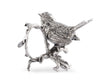 Pewter Song Bird Napkin Ring
