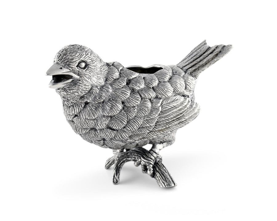 Vagabond House Pewter Song Bird Creamer