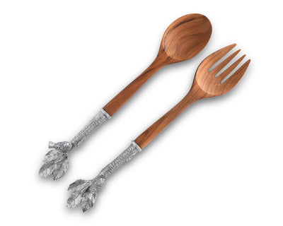 Song Bird Salad Server Set