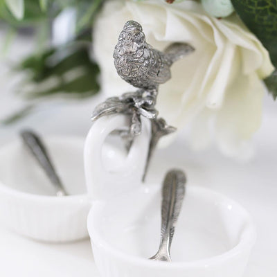 Song Bird Dbl Salt Cellar