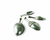 "Vagabond House Pewter Acorn Measuring Spoons 2"" Wide x 4.5"" Long"