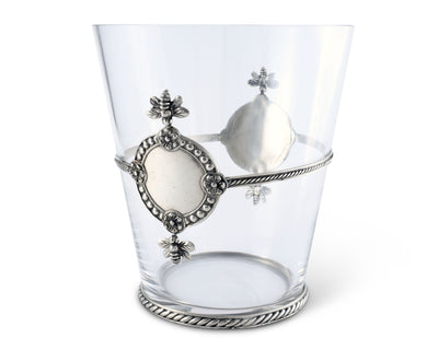 Glass Arche of Bees Ice Bucket