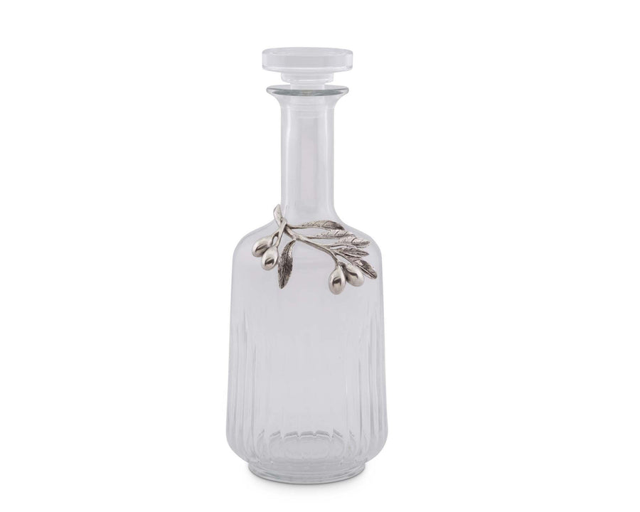 "Vagabond House Glass Olive Oil Bottle 4.5""W x 10.5""T"