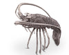 "Vagabond House Pewter Lobster Metal Statuette 12"" Long x 7"" Tall"