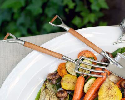 Fork & Shovel Salad Serving Set