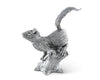 "Vagabond House Pewter Metal Black Forest / Nature ""Squirrel on Tree"" Salt and Pepper Shaker Set - 4"" Tall"