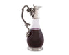 "Vagabond House Vineyard Grape Red Wine Decanter Hand Blown Lead-free Crystal Glass, Red Wine Carafe, Wine Gift, Wine Accessories 4""W x 10.5""T 34oz"