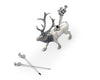 "Vagabond House Elk Pewter Cheese Pick Set 4"" Tall (Set of 6 picks)"