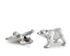 Pewter Polar Bear Salt & Pepper Shaker