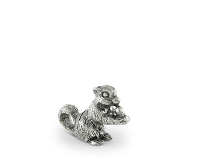Pewter Squirrel Place Card Holder