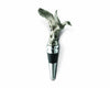 "Vagabond House Pewter Flying Duck Bottle Stopper 5.5"" Tall - Artisan Designer Handcrafted - Gift Boxed"