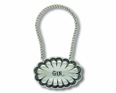 Decanter Tags - Gin - Western  Vagabond House