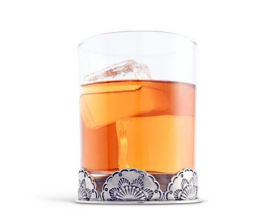 "Vagabond House Western Double Old Fashion / Bar / Whiskey / Juice Glass 4.25"" Tall / 8oz - Sold as Single"