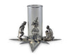 Pewter Wise Men Centerpiece by Vagabond House