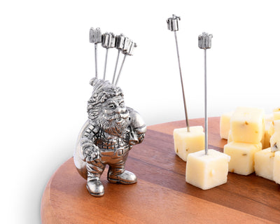 St. Nick Cheese Pick Set