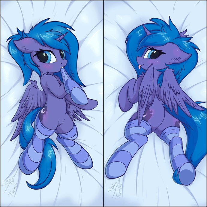 Inflatable hugging pillow - Luna by Twiren & DanLi