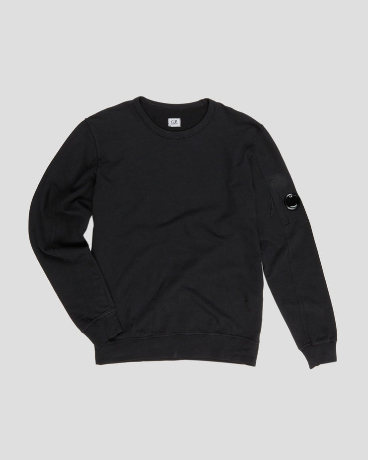 Garment Dyed Light Fleece Lens Crewneck