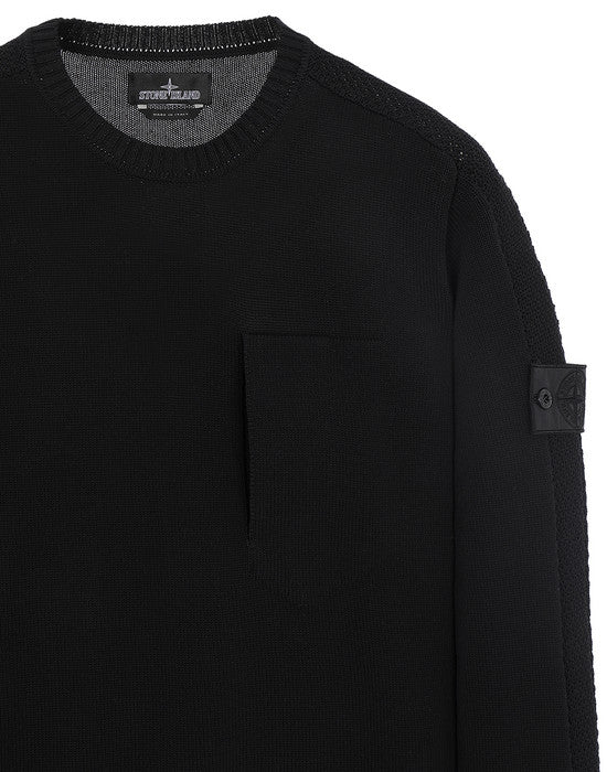 504A2 CATCH POCKET CREWNECK