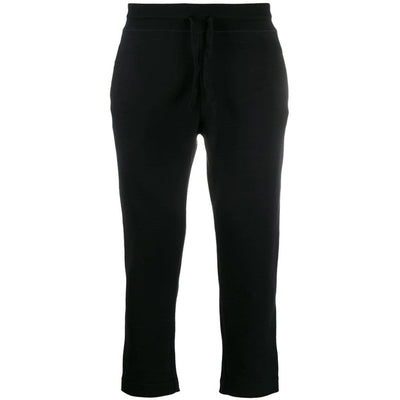 Knitted slim-fit track pants