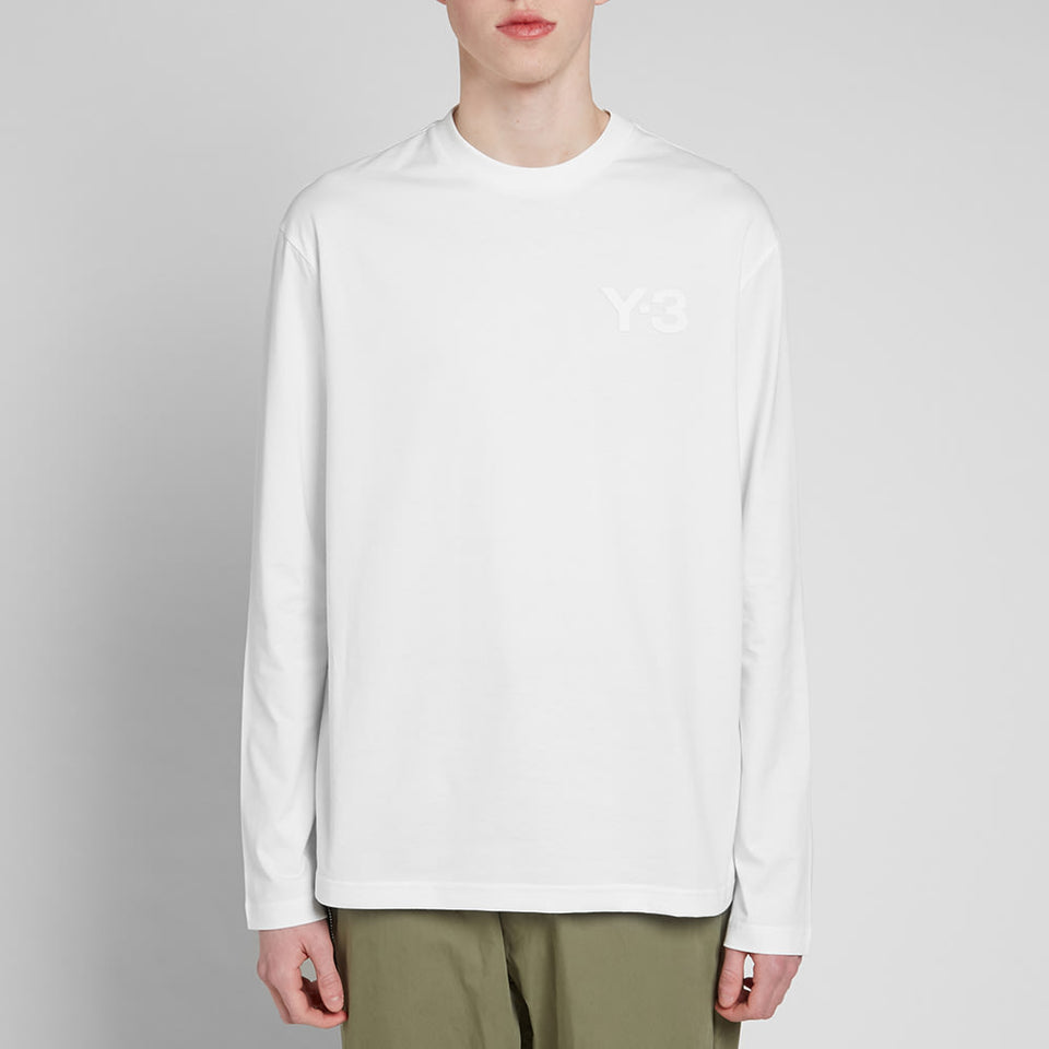 Y-3 LONG SLEEVE TEE