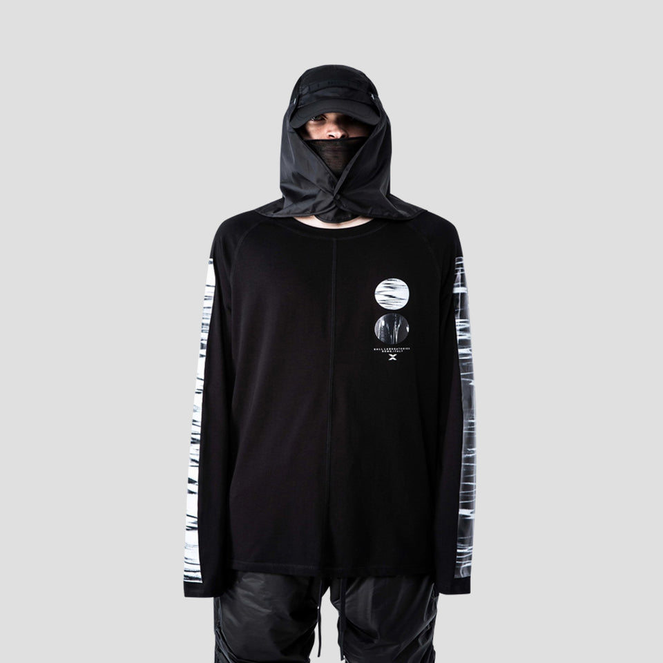 LABORATORY INVERSION LONG SLEEVE (BLACK)