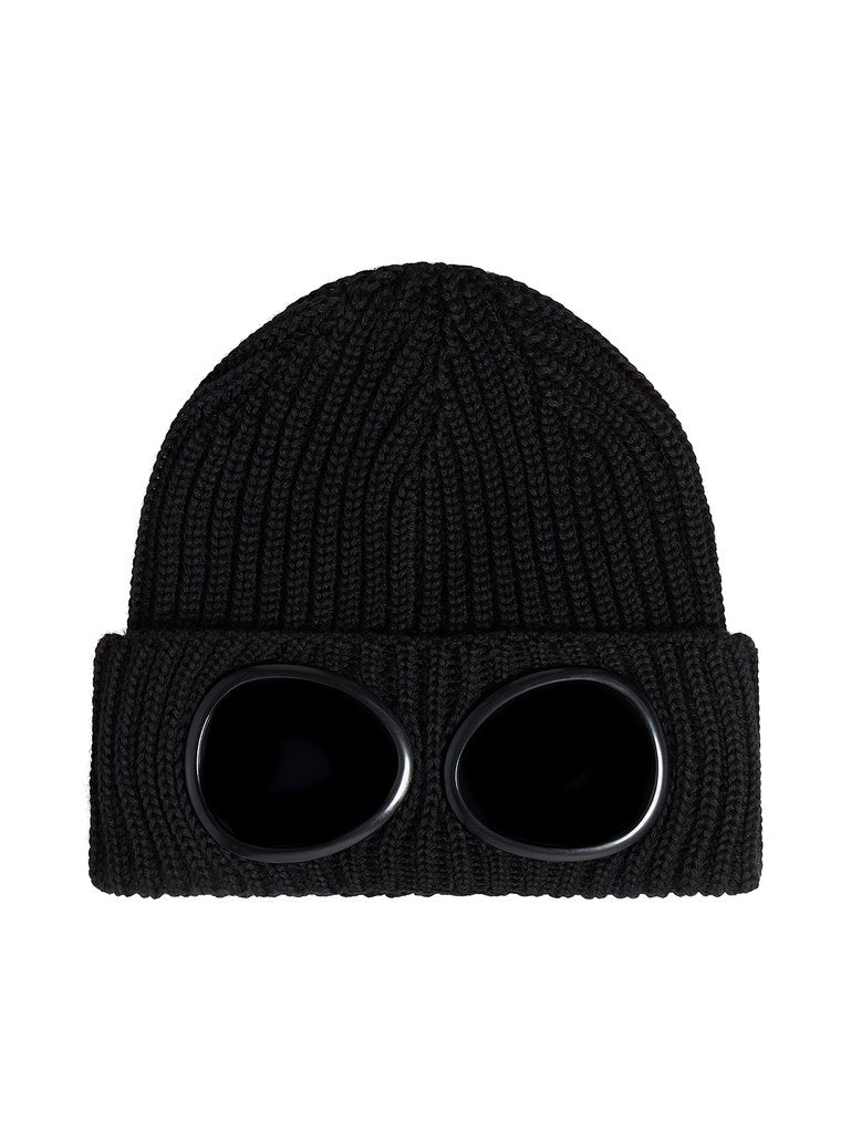 Wool Hat With Goggles
