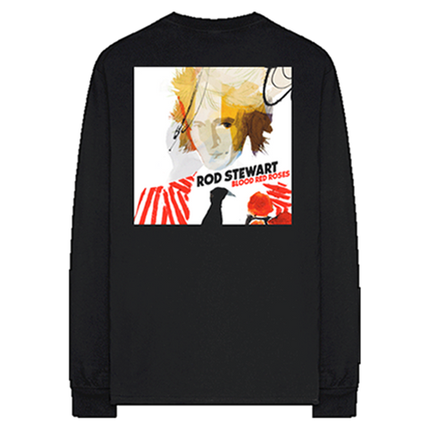 Blood Red Roses Black Longsleeve + Digital Album
