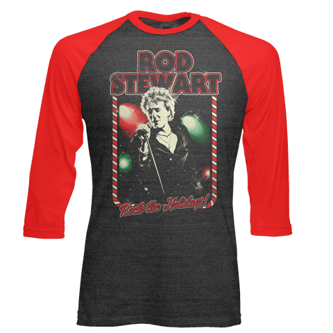 Rockin Christmas Raglan  + Digital Album
