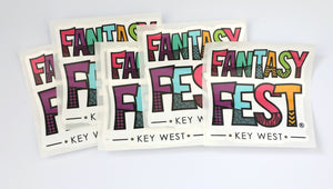 Fantasy Fest Stickers 3 for $5