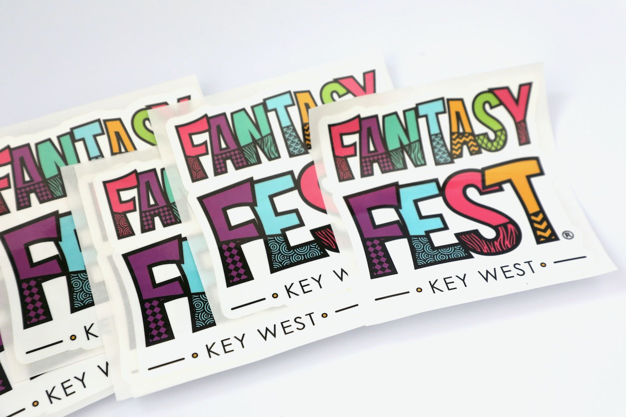 Fantasy Fest Stickers $2 Each