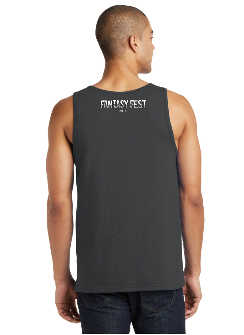 2019 Official Fantasy Fest Men's Tank - Charcoal