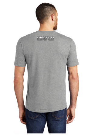 2019 Official Fantasy Fest Poster Tee - Grey