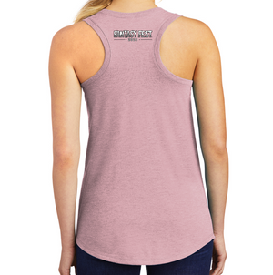 Fantasy Fest®  District Made® Ladies Perfect Tri® Racerback Tank in Heathered Lavender