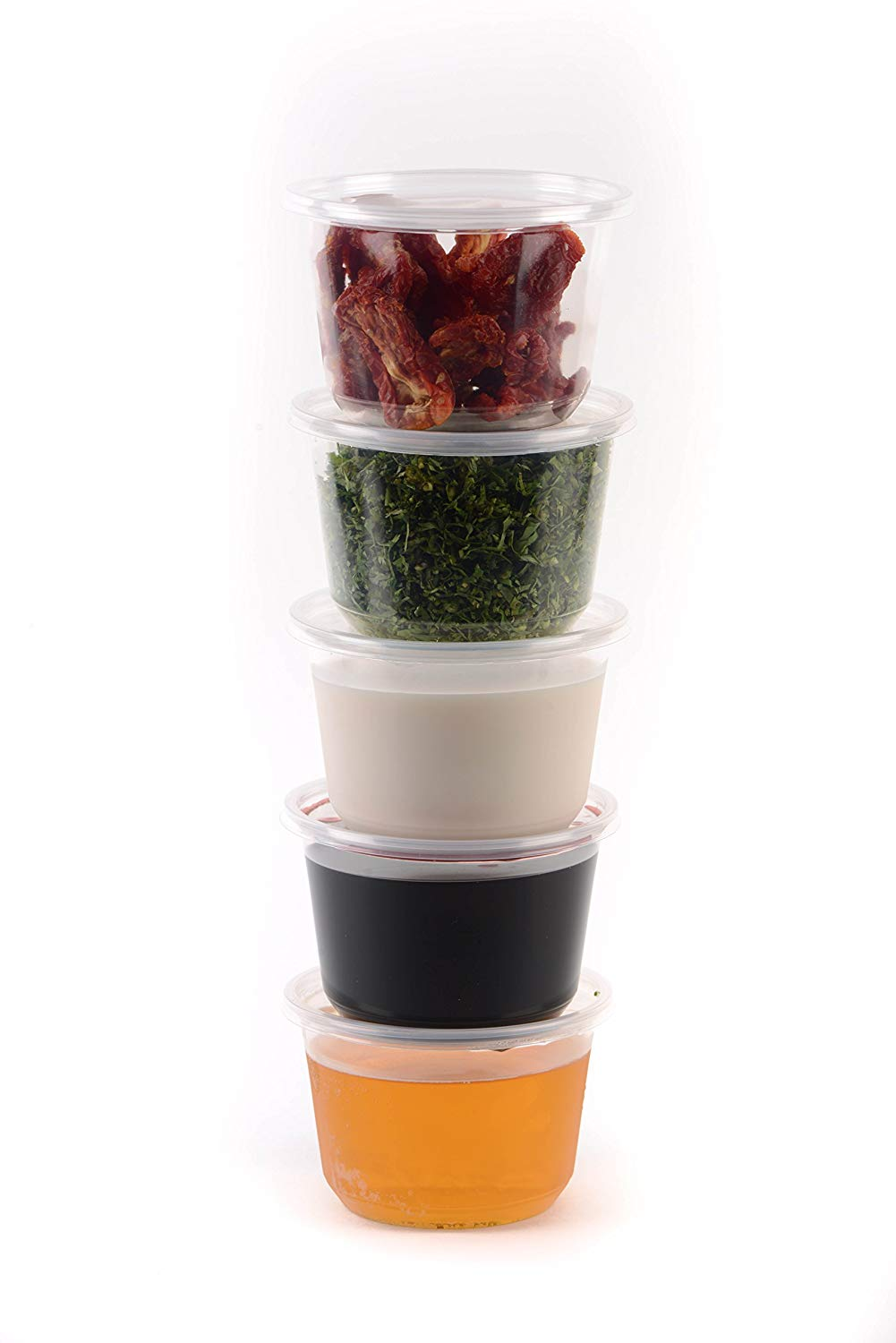 Plastic Deli Food Storage Containers with Lids