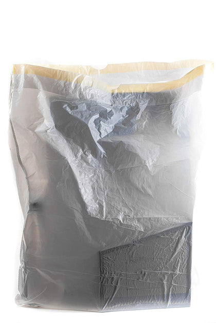 Trash Bags - 13 Gallon White Tall Kitchen Garbage Bags 1000 Count