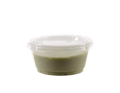 Clear Plastic Disposable Portion Cups with Lids