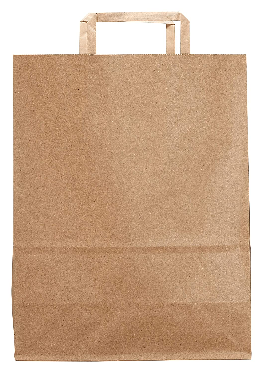 Medium Kraft Brown Paper Bags with Paper Handles