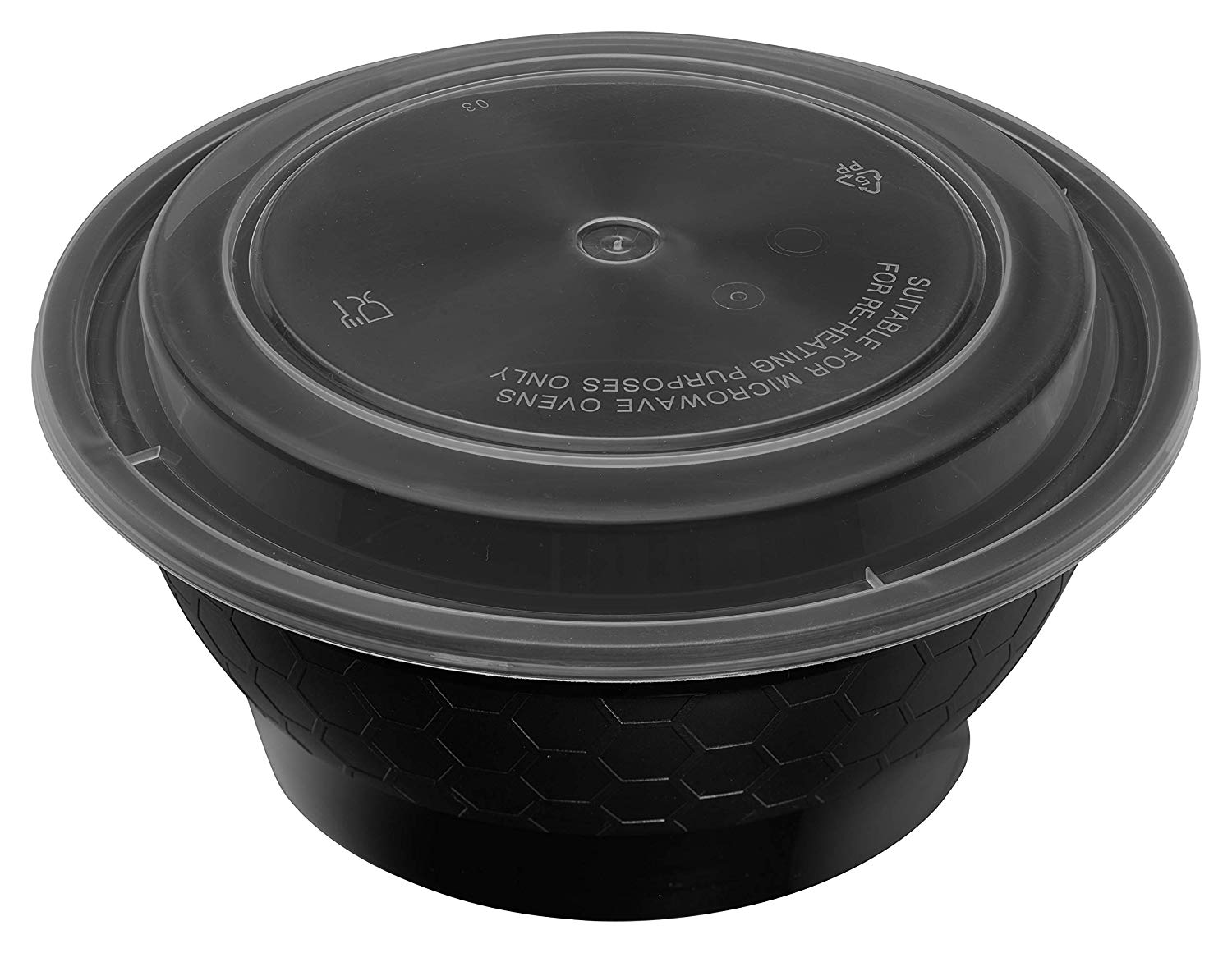 Meal Prep Containers Round Bowls with Lids